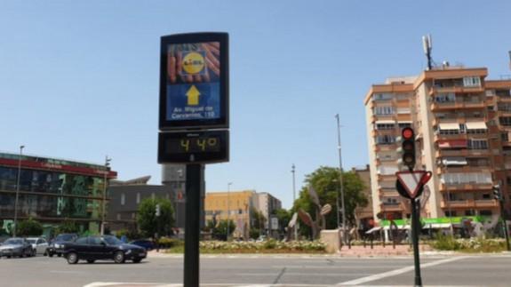 La temperatura media de Murcia sube más de un grado en una década
