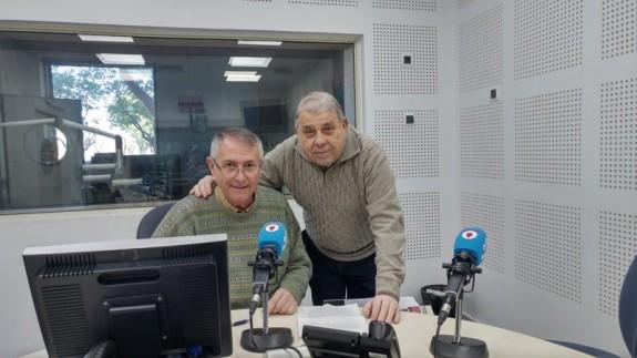 Frasquito Fernández con Miguel Massotti en Onda Regional