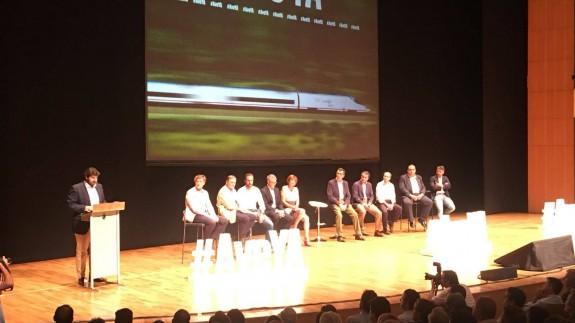 López Miras interviene en el acto celebrado en el Auditorio Regional
