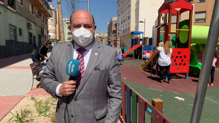 Pascual Lucas, alcalde de Cieza. CLAUDIO CABALLERO