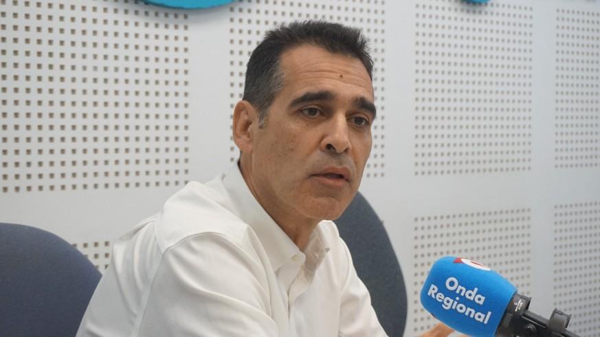 José Luis Alonso, en los estudios de ORM