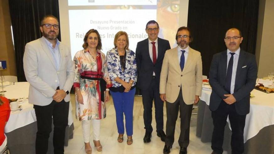 Presentación del Grado de Relaciones Internacionales. CARM