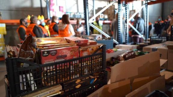 Campaña de Recogida de Alimentos por Navidad. FOTO: AYTO CARTAGENA