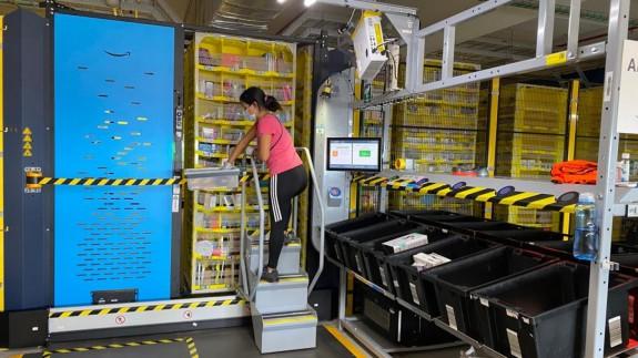 Nuevas instalaciones de Amazon en la pedanía murciana de Corvera