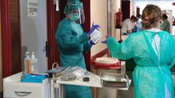 Vacunación en un centro sociosanitario