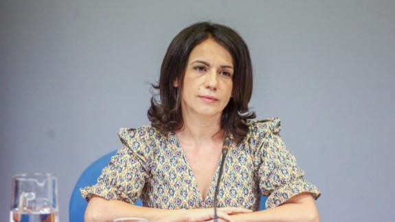 Silvia Calzón, secretaria de Estado de Sanidad. FOTO: EUROPA PRESS