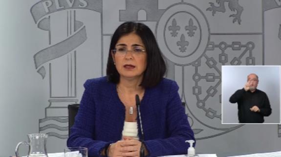 Carolina Darias se estrenaba en el Ministerio de Sanidad